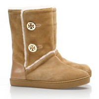 Ginger Shearling Boot