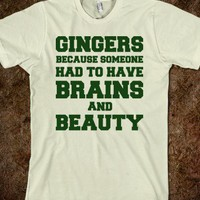 Gingers Brains and Beauty - Quotes and Sayings