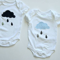 Baby Twins ClothesTwins BirthdayGender by wildjuniper on Etsy