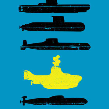 Know Your Submarines V2 Art Print by Resistance | Society6