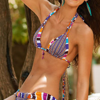 SAHA 2013: Pescaito Two Piece Swimsuit Triangle Bikini B69 | Swimwear Boutique