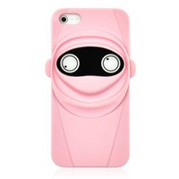 Cute Pink Ninja Phone Case For iPhone 5