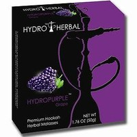 Hydro Herbal 50g Grape Hookah Shisha Tobacco Free Molasses
