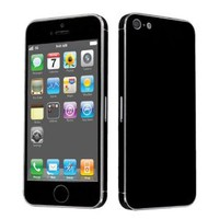 Amazon.com: Apple iPhone 5 Full Body Vinyl Decal Protection Sticker Skin Jet Black: Cell Phones & Accessories