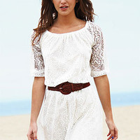 dELiAs &gt; Allover Long-Sleeve Lace Dress &gt; dresses &gt; new arrivals