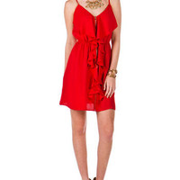 Fort Bliss Ruffle Dress