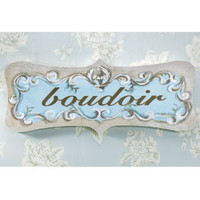 Boudoir Decorative Plaque - Furniture, Home Decor &amp; Home Furnishings, Home Accessories &amp; Gifts | Expressions