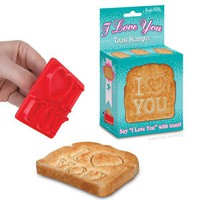 I Love You Toast Stamper - Whimsical &amp; Unique Gift Ideas for the Coolest Gift Givers