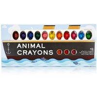 Adorable Animal Crayons - Set of 12 Different Animals - Whimsical & Unique Gift Ideas for the Coolest Gift Givers