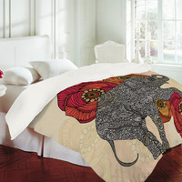 Valentina Ramos Rosebud Duvet Cover