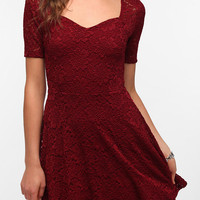 Pins and Needles Sweetheart Lace Dress