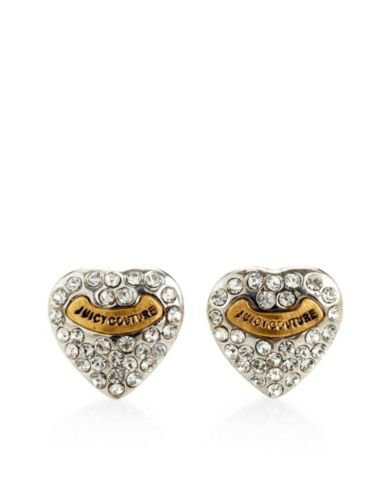 Juicy Couture | Earrings for Women - Pave-Heart Stud Earrings
