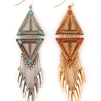 Cute Dangle Earrings - Southwest earrings - Long Earrings - &amp;#36;14.00
