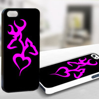 Browning Deer Hunting - WDC021 - Design on Hard Cover - iPhone 4 / 4S Case, iPhone 5 Case