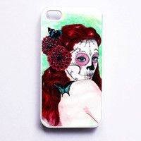 iPhone 4 Case  Dia De Los Muertos Artwork  Sweet by MayhemHere