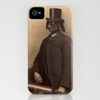 Lord Vader iPhone Case by Terry Fan | Society6