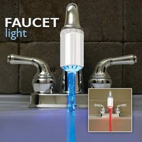 Handy Trends Nozzle Light - Temperature Controlled Faucet Light