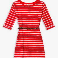 Belted Striped Dress | FOREVER 21 - 2025100919