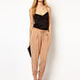 ASOS Lux Tapered Trousers at asos.com