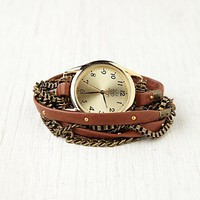 Free People Multi Chain Wrap Watch
