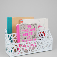 Urban Outfitters - Geo Cutout Letter Storage Bin