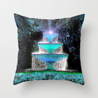 Fountain of Youth Throw Pillow by JT Digital Art  | Society6