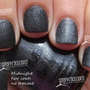 Nabi Matte Charcoal Gray Grey Color Nail Polish FREE SHIPPING