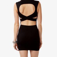 Crisscross Back Bodycon Dress | FOREVER 21 - 2000046464