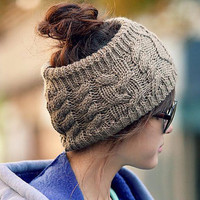 The fashion Serratula wool hair band knitted headband