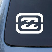 Billabong - Car, Truck, Notebook, Vinyl Decal Sticker #2370 | Vinyl Color: White