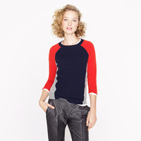 Collection cashmere colorblock sweater - j.crew cashmere - Women's sweaters - J.Crew