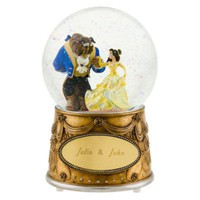 Personalized Beauty and the Beast Snowglobe | Beauty and the Beast | Disney Store