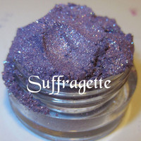 Suffragette Medium Amethyst Purple Holographic Glitter Mineral Eyeshadow Mica Pigment 5 Grams Lumikki Cosmetics