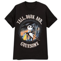 &#x27;&#x27;Tall, Dark and Gruesome&#x27;&#x27; Jack Skellington Tee for Men 