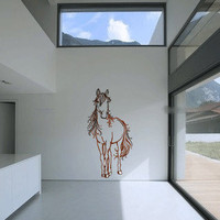 Horse Vinyl Wall Decal Sticker Graphic by laras4labs on Etsy