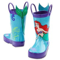 Ariel Rain Boots for Girls | Shoes | Disney Store