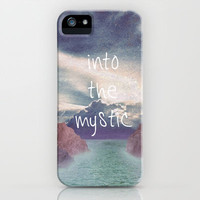 Into the Mystic (ANALOG zine) iPhone Case by Elephant Trunk Studio | Society6