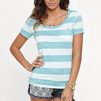 Nollie Scoop Neck Pocket Stripe Tee at PacSun.com