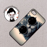 Steampunk Kitty  plastic iPhone 4 Case iPhone 4s by CudageCase