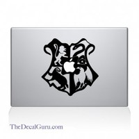 Hogwarts Crest Large Macbook Decal