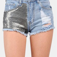 Heavy Metal Short - Blue