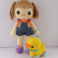 Buy Miki and 4-wheel duck pattern - AmigurumiPatterns.net
