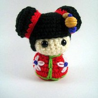Buy Chibi Kokeshi Doll pattern - AmigurumiPatterns.net