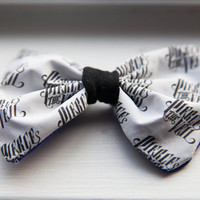 Pierce The Veil Logo Hair Bow by AlexsMisfitToys on Etsy