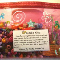 KIDDIE KITS  BEADING Kits for ChildrenPink by BeadedDelightsByStef