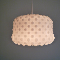 Hanging Lamp Perdita  Textured Glass Pendant by TheLightStore