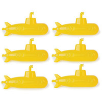 Kikkerland Design Inc    Products   Reusable Ice Cubes Submarine Set of 6