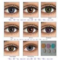 Amazon.com: Cosmetic Colorblend Colored Contact Lenses Pure Hazel Plus Free Case: Everything Else