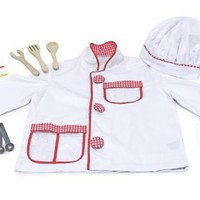 Amazon.com: Melissa & Doug Chef Role Play Costume Set: Toys & Games
