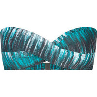 OAKLEY Graphite Stripe Bikini Top 203579249 | Swim | Tillys.com